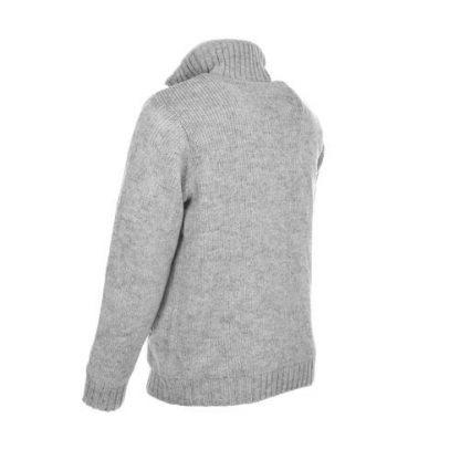 grijs herenvest wol - gevoerd