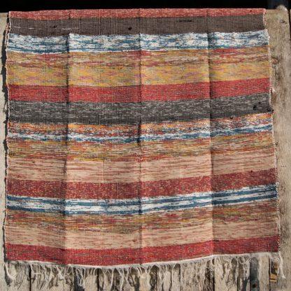 Kleurrijk vloerkleed - Fair trade kleed - India kleed - Nepal kleed
