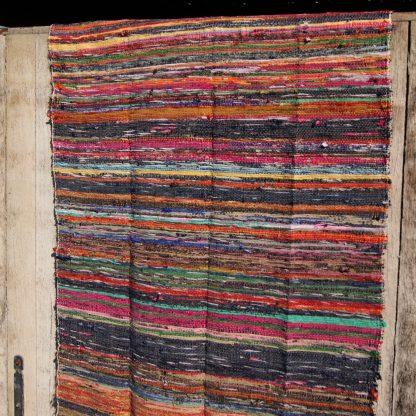 voddenkleed - India kleed - rag rug - geweven kleed van vodden
