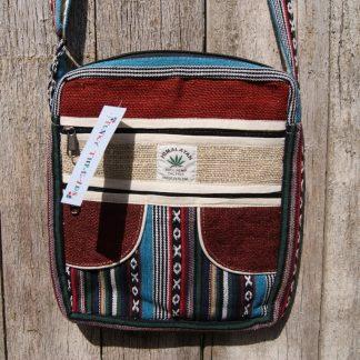 Tas uit Nepal - kleurrijke schoudertas - Fair trade schoudertas