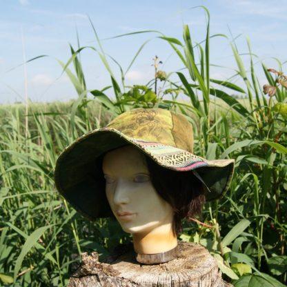 Patchwork hoed - Nepal hoed