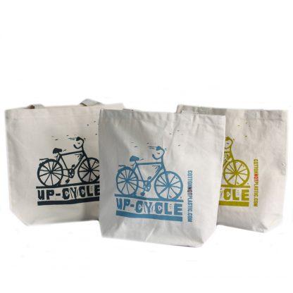 Eco schoudertas - fiets