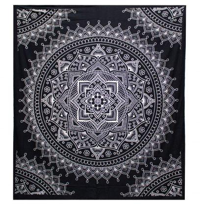 Lotus bloem - bed kleed - mandala - India